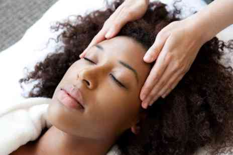 Pure Indulgence - 45 Minute Indian Head Massage with Gel Polish and Mini Manicure or Pedicure  - Save 0%