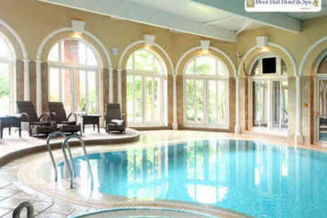 Moor Hall Hotel & Spa  - Spa Day with Choice of Treatment for Two - Save 52%
