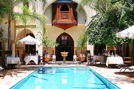 Demeures dOrient Riad Deluxe & Spa - Traditional luxury inside Marrakechs bustling medina - Save 51%