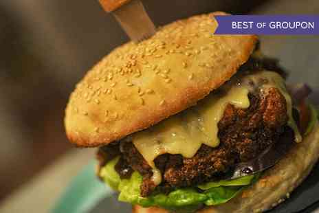 2648 Cambridge - Choice of Burger and Drink for Two  - Save 0%