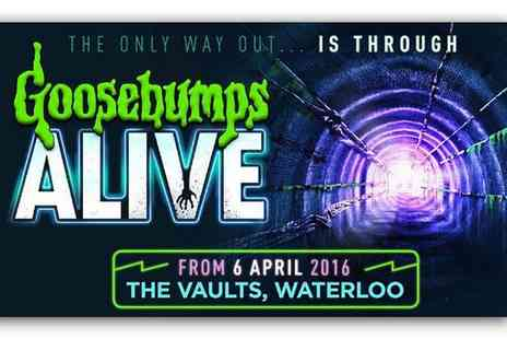Ingresso - Goosebumps Alive Ticket at The Vaults - Save 0%