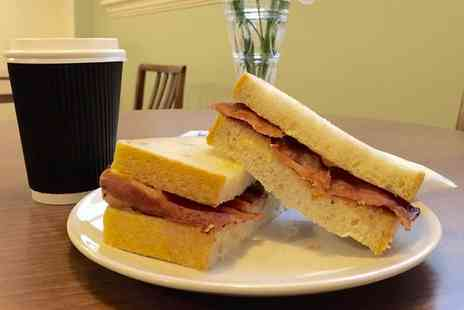 Mrs Danvers Cafe - Bacon Sandwich and a Hot Drink for Up to Four - Save 0%