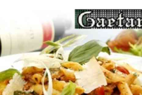Gaetano - Two Course Pizza or Pasta Meal For Two - Save 56%