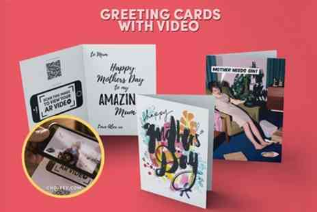 Choosey - Personalised Greeting Card with Video Message  - Save 75%