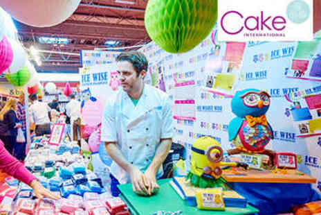 Alexandra Palace - Cake International Two Tickets - Save 50%