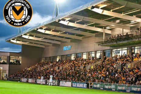 Newport County AFC  - Hospitality Package for Two - Save 38%