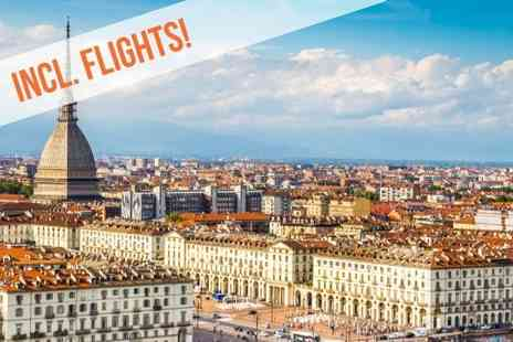 Hotel Lancaster Torino - Two, Three or Four nights stay Return flight   - Save 0%