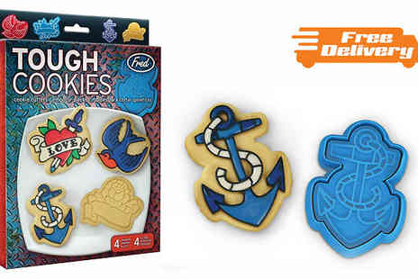 Funky Monkey Gift Shop - Tough Cookies Cookie Stamper Set - Save 58%