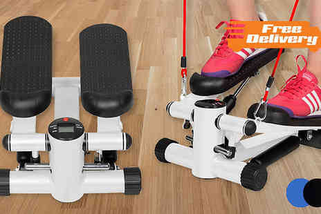 comxuk  - Aerobic Resistance Exercise Step Machine in 2 Colours - Save 50%