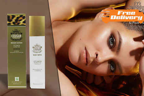 Cougar Beauty Products - Anti Ageing Gradual Tan Lotion - Save 67%