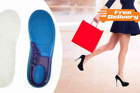 Emyub - Cushioned Silicone Insoles - Save 58%