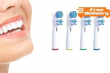 Emyub - Oral B Compatible Toothbrush Heads - Save 35%