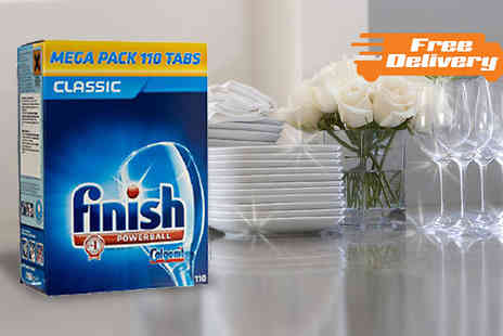 J & Y - Finish Classic Powerball Dishwasher Tabs - Save 37%