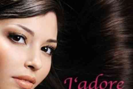 Jadore Hair - Foil Top Highlights, Cut, Blow Dry and Deep Conditioning Treatment With Eyebrow Shaping - Save 65%