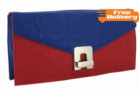 HomeStore Direct - Block Colour Clutch Bag - Save 33%