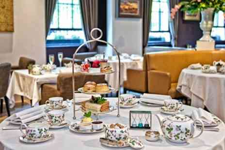 London Britannia Hotel - Champagne Afternoon Tea for Two  - Save 51%