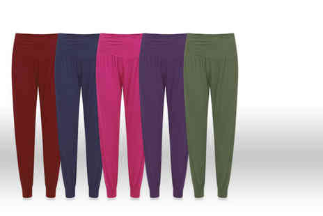 Stitch Trading  - Pair of classic womens harem pants - Save 65%