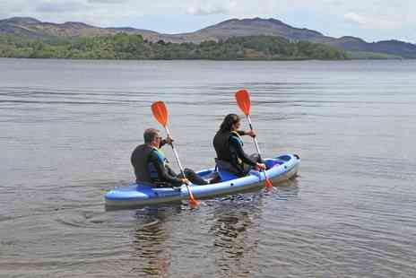Loch Lomond Leisure - Kayak experience for one  - Save 48%