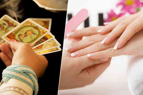 youglo  - Express manicure and tarot or astrology reading   - Save 64%