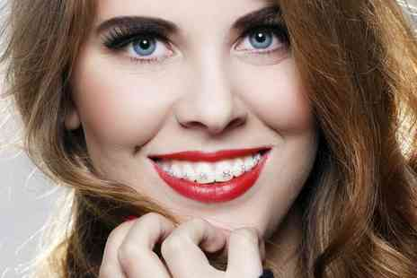 Dental Practice Manor Square - Short Term Clear Tooth Coloured Braces for One or Two Arches - Save 38%
