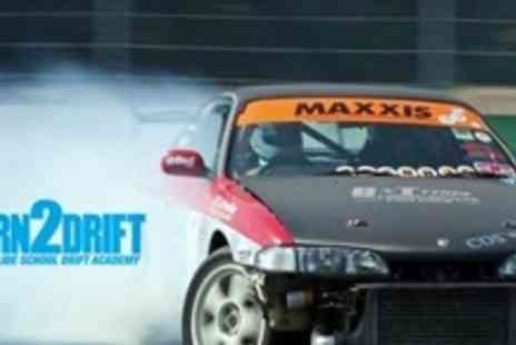 Slide School Drift Academy - Half Day Introduction to Car Drifting - Save 65%