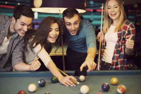 London Snooker - Two Hours of Snooker or Pool Plus Jug of Beer and Annual Membership for Two - Save 66%