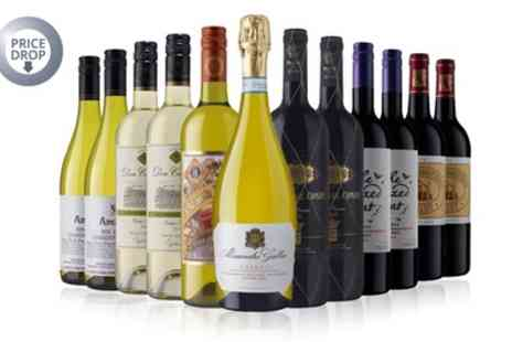 Laithwaites Wine Merchants - 12 Bottle Case of Red, White or Mixed Wine Plus Wine Plan Membership - Save 60%