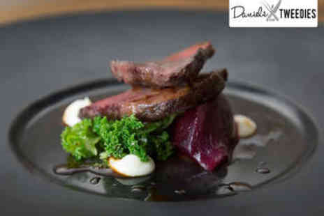 Daniels at Tweedies - Two Course Meal with Tea or Coffee for Two - Save 56%