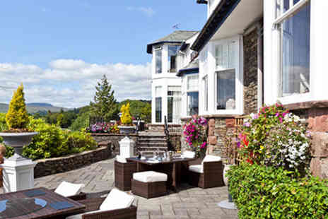 Hillthwaite House Hotel - One Night Lake District Escape with Dinner for Two  - Save 0%