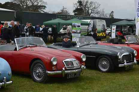 Hampshire Classic Motor Show - Classic Motor Show Entry for Two or a Family of Four On 3 April  - Save 44%
