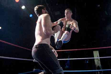 LDN Wrestling - LDN Wrestling Event Ticket for One, Two or a Family, Choice of Date and Location  - Save 39%