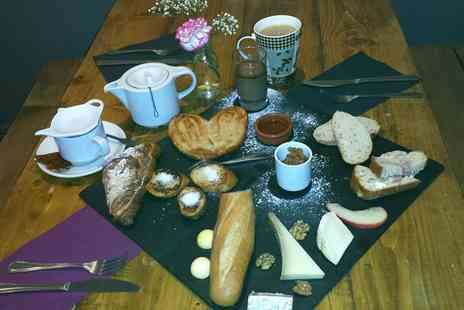 Cheese and Cheers - French Breakfast Mixed Sharing Platter For Two or Four - Save 26%