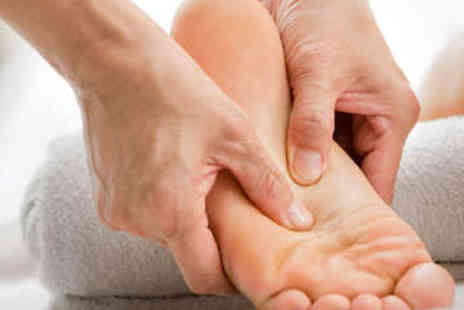 R & R Therapy - Reflexology with Reiki Session - Save 51%