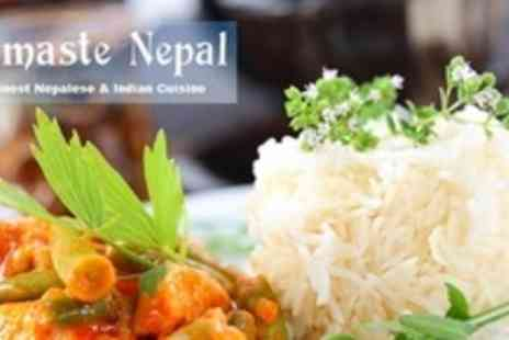 Namaste Nepal - Two Courses of Nepalese or Indian Fare For Four - Save 55%