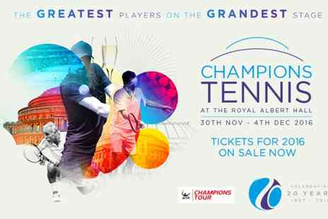 Champions Tennis - Champions Tennis 2016 Ticket - Save 0%