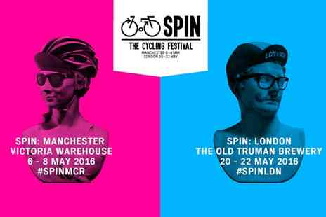 Spin London - Spin London, The Cycling Festival Two Tickets on 20 to 22 May - Save 35%