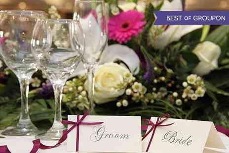 Holiday Inn - Wedding Package with Two Course Meal, Evening Buffet and Accommodation  - Save 49%
