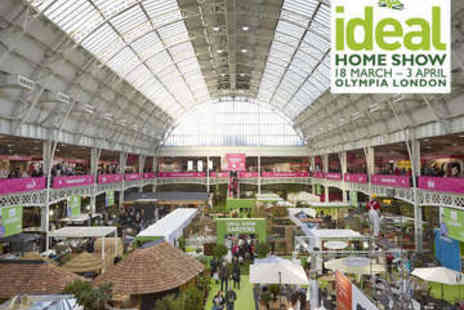 Ideal Home Show - Two Tickets to the Ideal Home Show - Save 49%