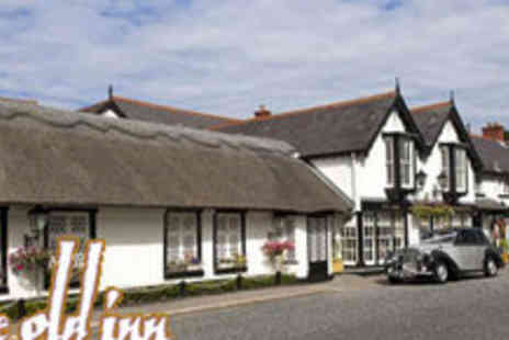 The Old Inn - One Night B&B In a Deluxe Room plus a Bottle of Wine & Box of Chocolates - Save 59%