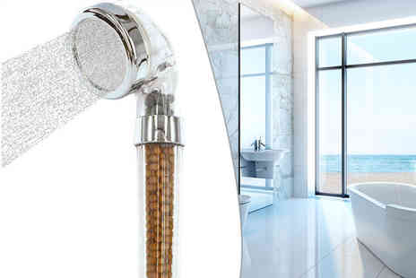 Easylife Group - Four stage tingle factor shower head - Save 54%