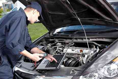 Cromptons Automotives - MOT for a full car service including oil and filter change and diagnostic checks  - Save 40%