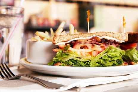 Vermillion Cafe - Sandwich, Toastie, Wrap or Panini with a Hot Drink for Two or Four  - Save 0%