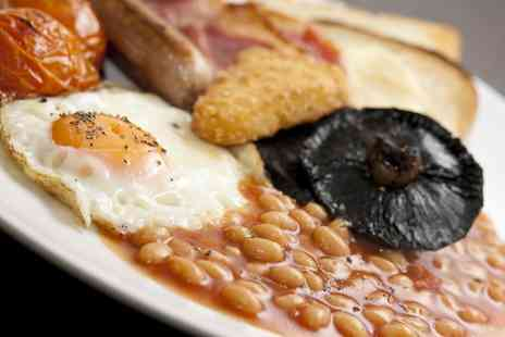 Radway Green Garden Centre - All Day Traditional English Breakfast and a Hot Drink for Two or Four - Save 46%