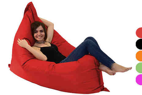 Love Your Beanbag - Giant Colourful Bean Bag Available in Five Colours - Save 75%