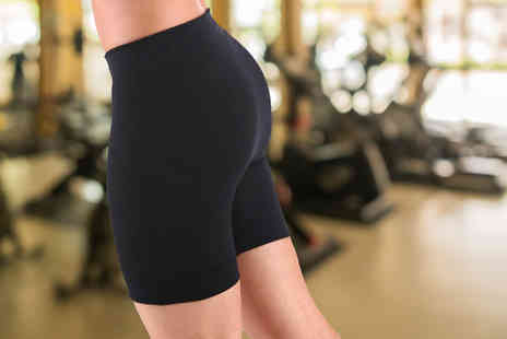 Apricot Leaf - Neoprene Workout Shorts - Save 71%