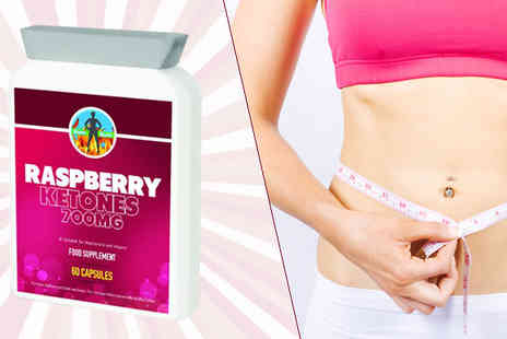 Bentley's Bargain Warehouse - 700mg Nutriburn Pure Raspberry Ketone Capsules Buy One or Two Months Supply - Save 60%
