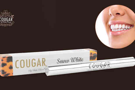 Cougar Beauty Products - Snow White Teeth Whitening Pen - Save 71%