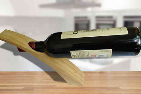Quirky Online - Wooden Wine Holder - Save 75%