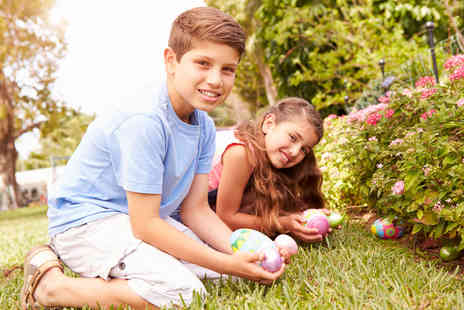 Willow Tree Family Farm -  Easter Egg Hunt and farm entry for one adult and one child   - Save 50%