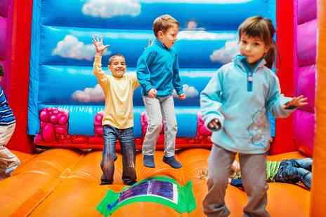 KidzPartyZone - One Hour Disco Party Room Package for Up to 12 Children with Optional Food  - Save 42%